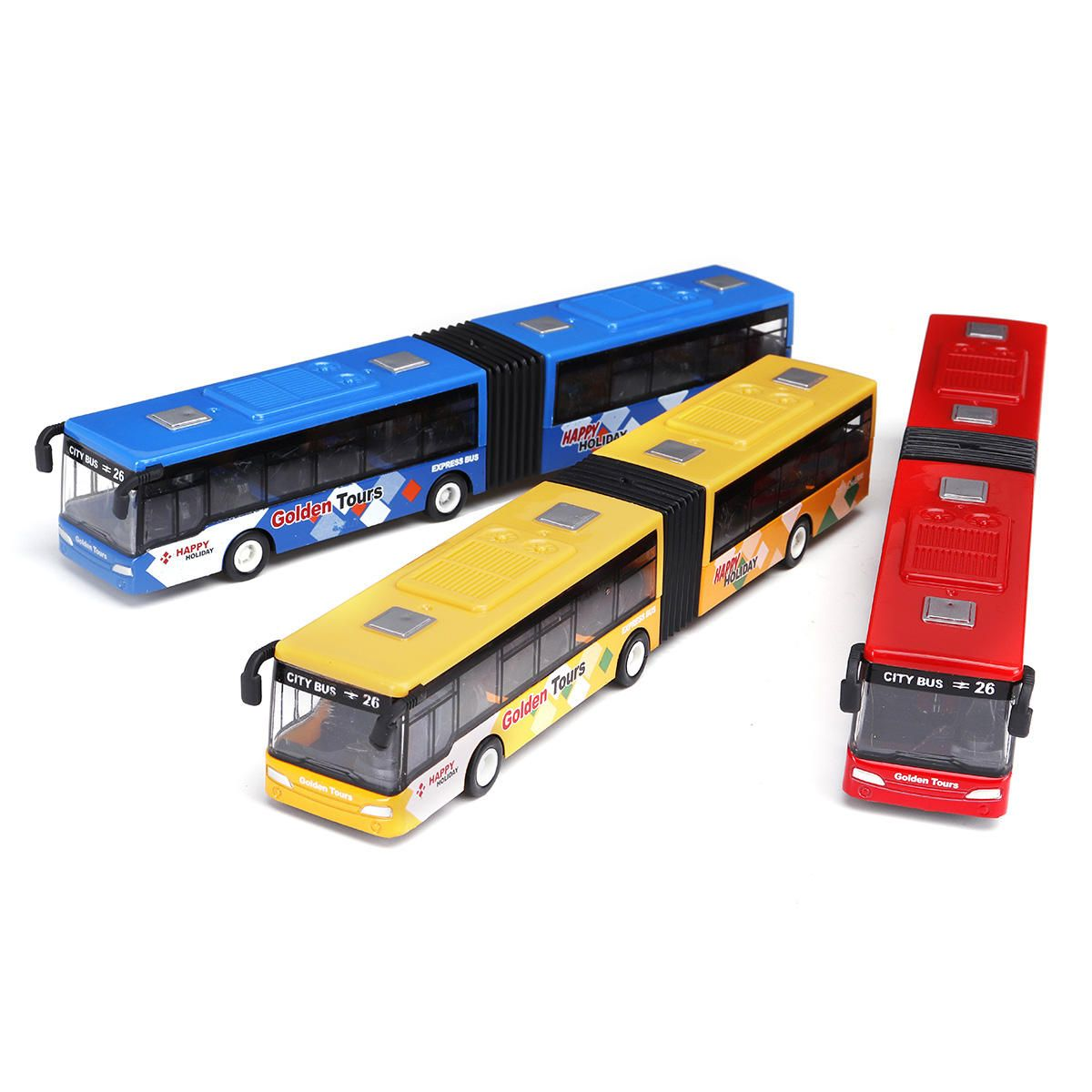 Blue Red Green 1 64 18cm Baby Pull Back Shuttle Bus Diecast Model Vehicle Kids Toy Kids Toys Toys Diecast