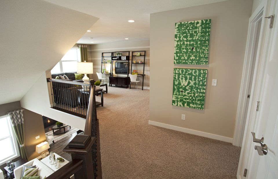 Pulte Homes Gallery Paint Wall Color Pinterest
