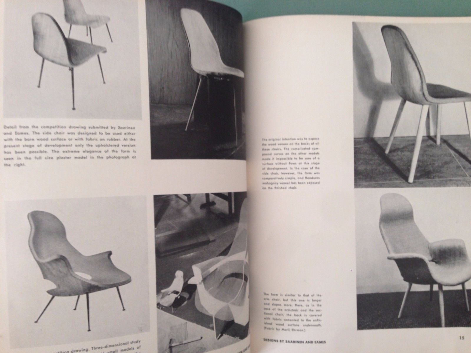 Eames And Saarinen Organic Design In Home Furnishings Eliot Noyes 1941 Charles Eames Catalog Moma Organic Design Charles Eames Home Furnishings