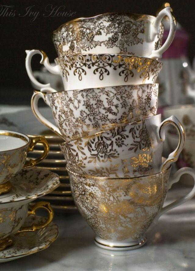 Gold Embellished