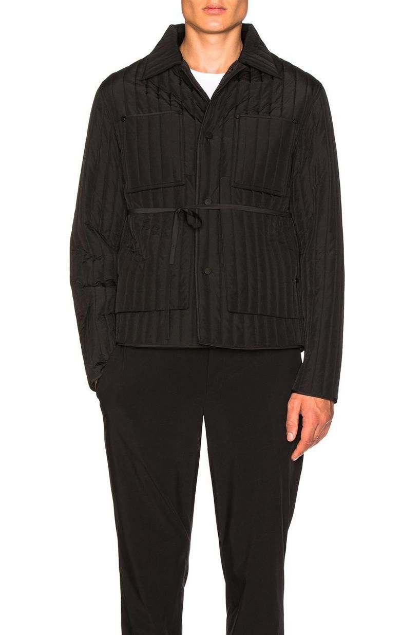 Craig Green Black Core Quilted Workwear Jacket Jackets Craig Green Work Jackets