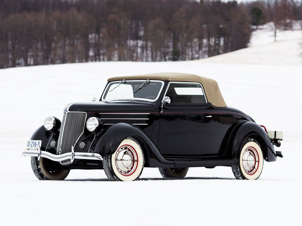 1936 Ford Cabriolet - (Ford Motor Company, Dearborn, Michigan 1903 ...
