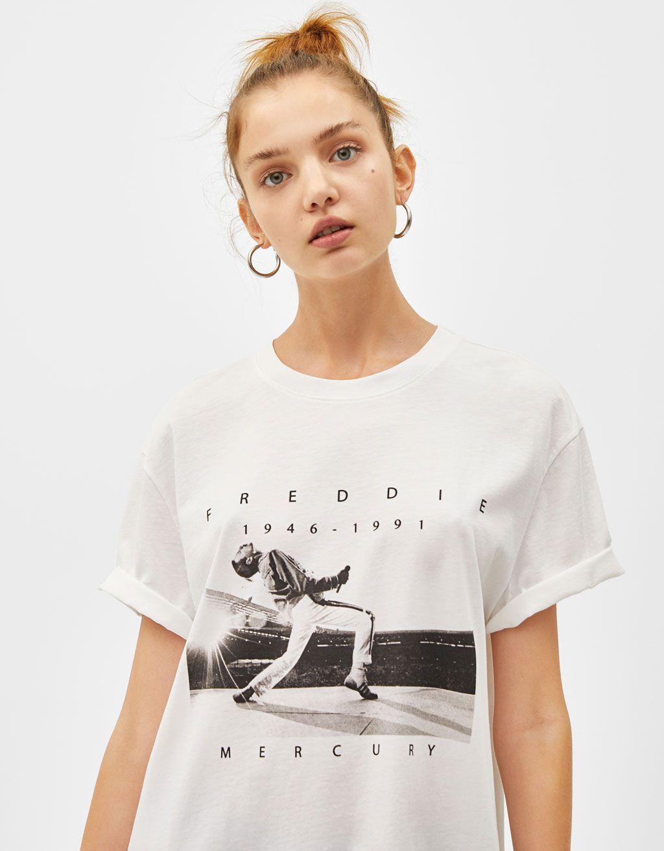 seleccione para el más nuevo compras nuevo autentico Camiseta Freddie Mercury | Stylish in 2019 | Shirts, Shirt ...