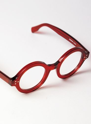 5dee59786ee3 Bold Round Frame in Red. Find this Pin and more on Eyewear Spring 2016  Collection ...