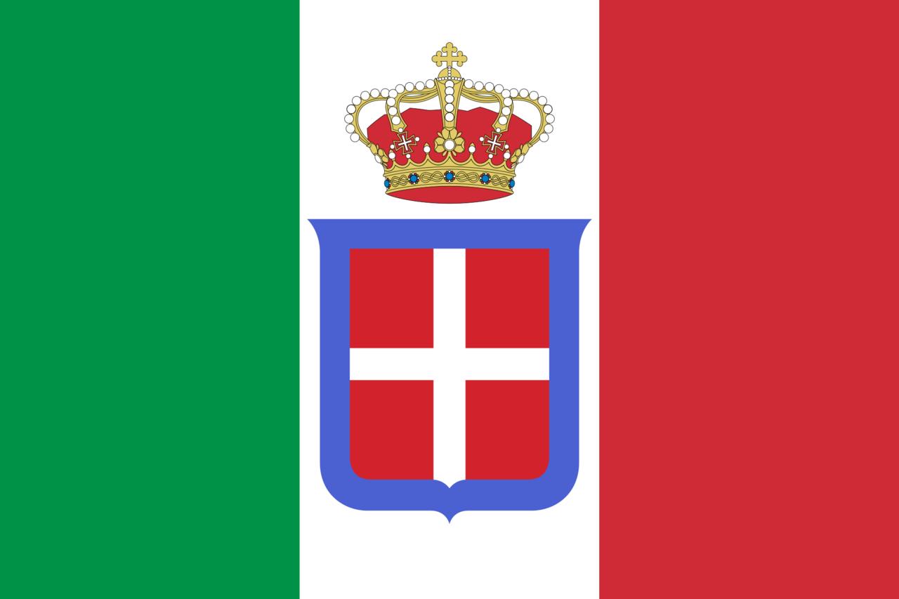 Italian Royal Flag Italy Flag Italian Flag Kingdom Of Italy