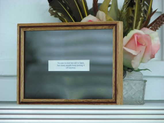 handmade wood picture frame fortune frame by moqii on etsy 2600 - Etsy Picture Frames