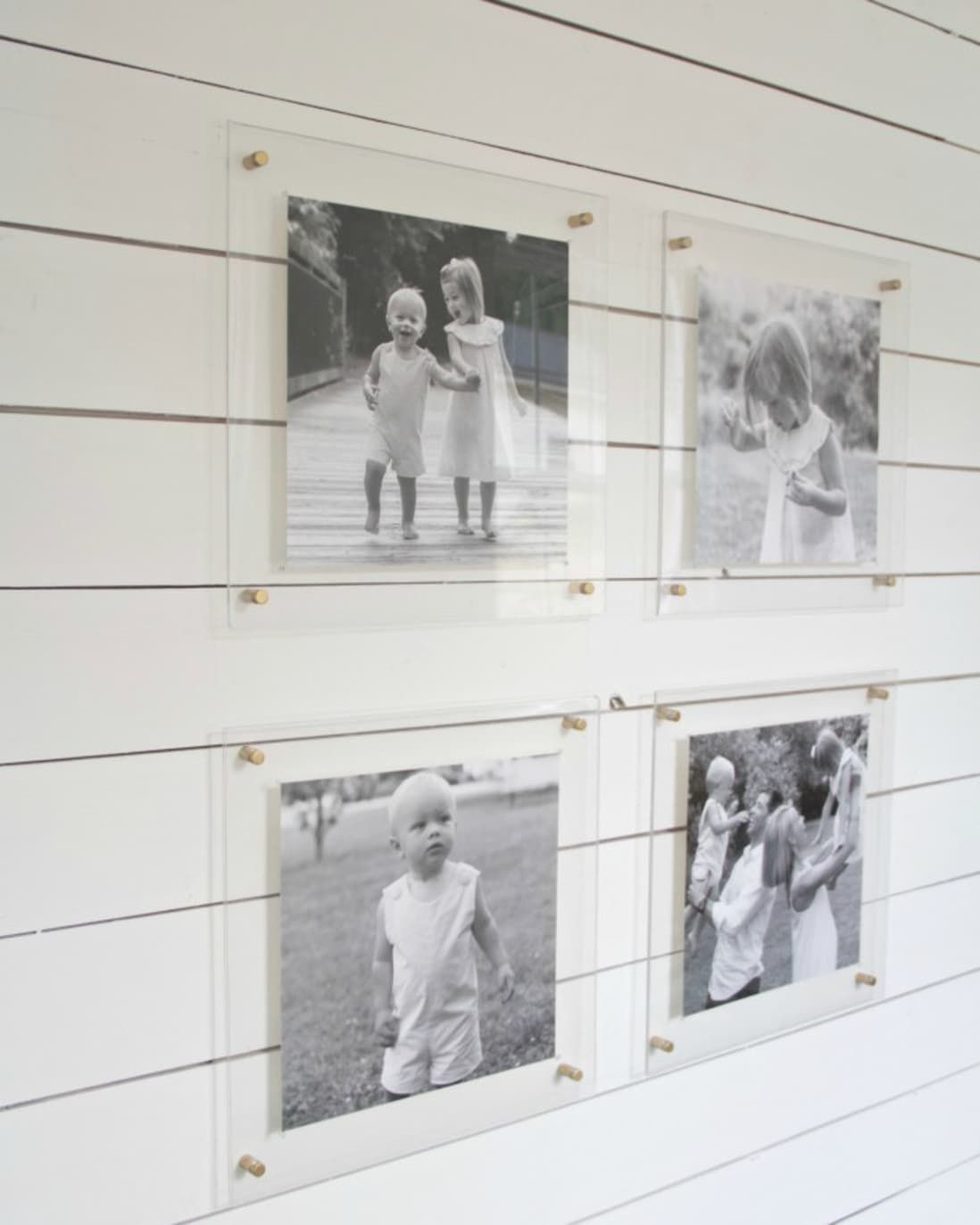 Amazing Acrylic Frames 10 Examples That Will Convince You To Float Your Art In 2020 Gallery Wall Frames Acrylic Frames Frame