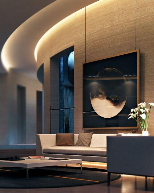 Ultra Modern Living Rooms For Hospitable Homeowners: Ultra Modern Living Room