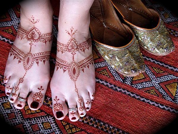 Mehndi Designs For Feet Bridal : Bridal mehndi designs latest feet