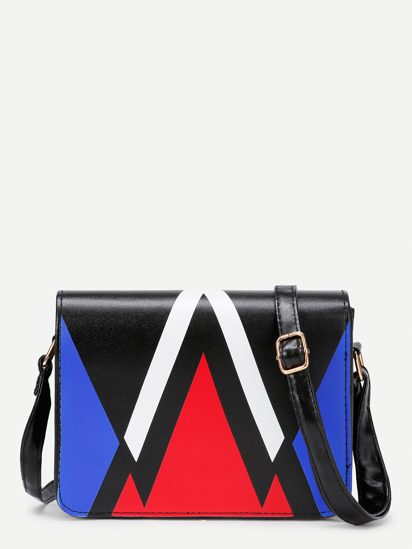 e723cd9ee3 Shop Chevron Design PU Crossbody Bag online. SheIn offers Chevron Design PU Crossbody  Bag   more to fit your fashionable needs.