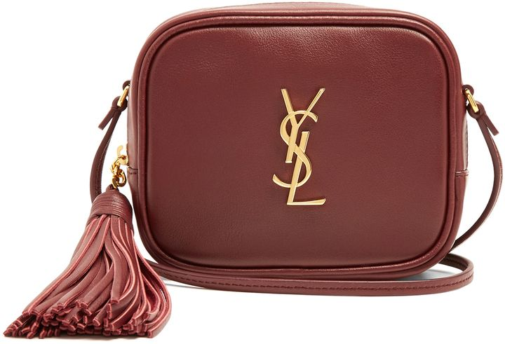 SAINT LAURENT Monogram Blogger leather cross-body bag  09305128642dc