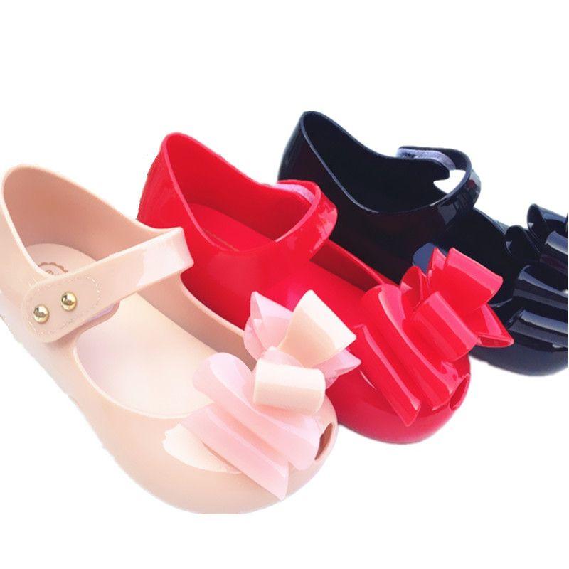 mini melissa fille sandales 2016 nouveau enfants chaussures jelly de pluie bébé RmRdj