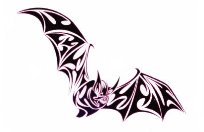classic tribal flying bat tattoo design batsy batsy batsy rh pinterest com Bat Tattoo Meaning tribal bat tattoo ideas