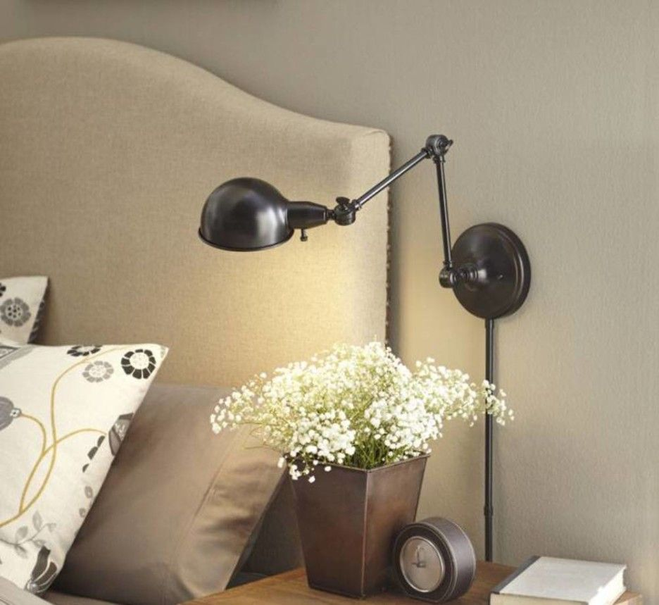 5 Important Things About Swing Arm Lights Bedroom Inspiring