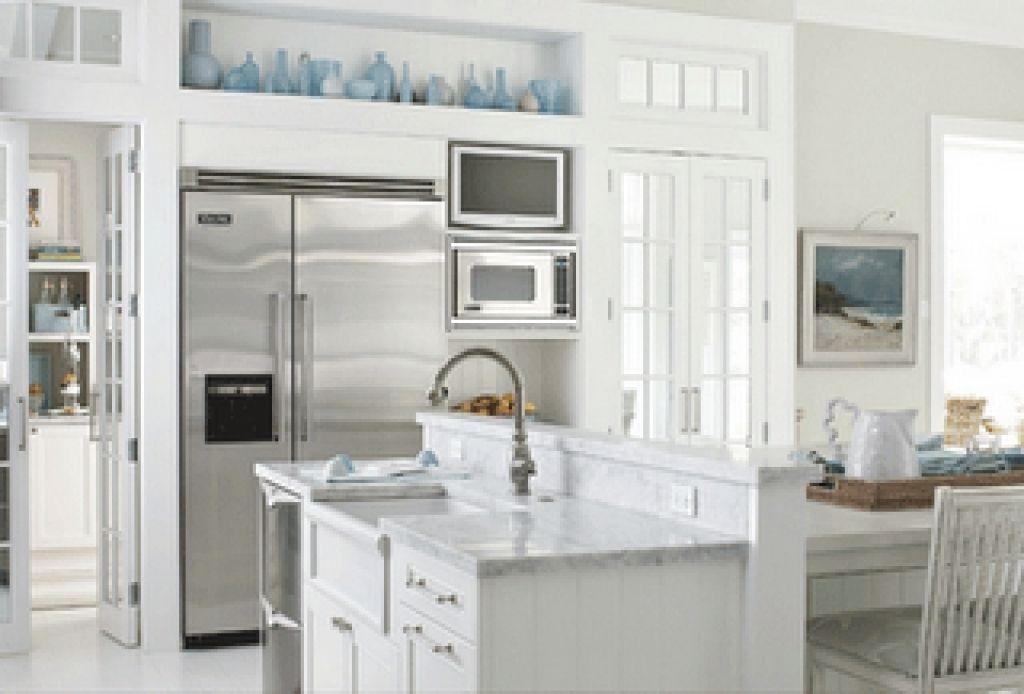 renovieren küche mit attraktiven weißen gehäusen (mit