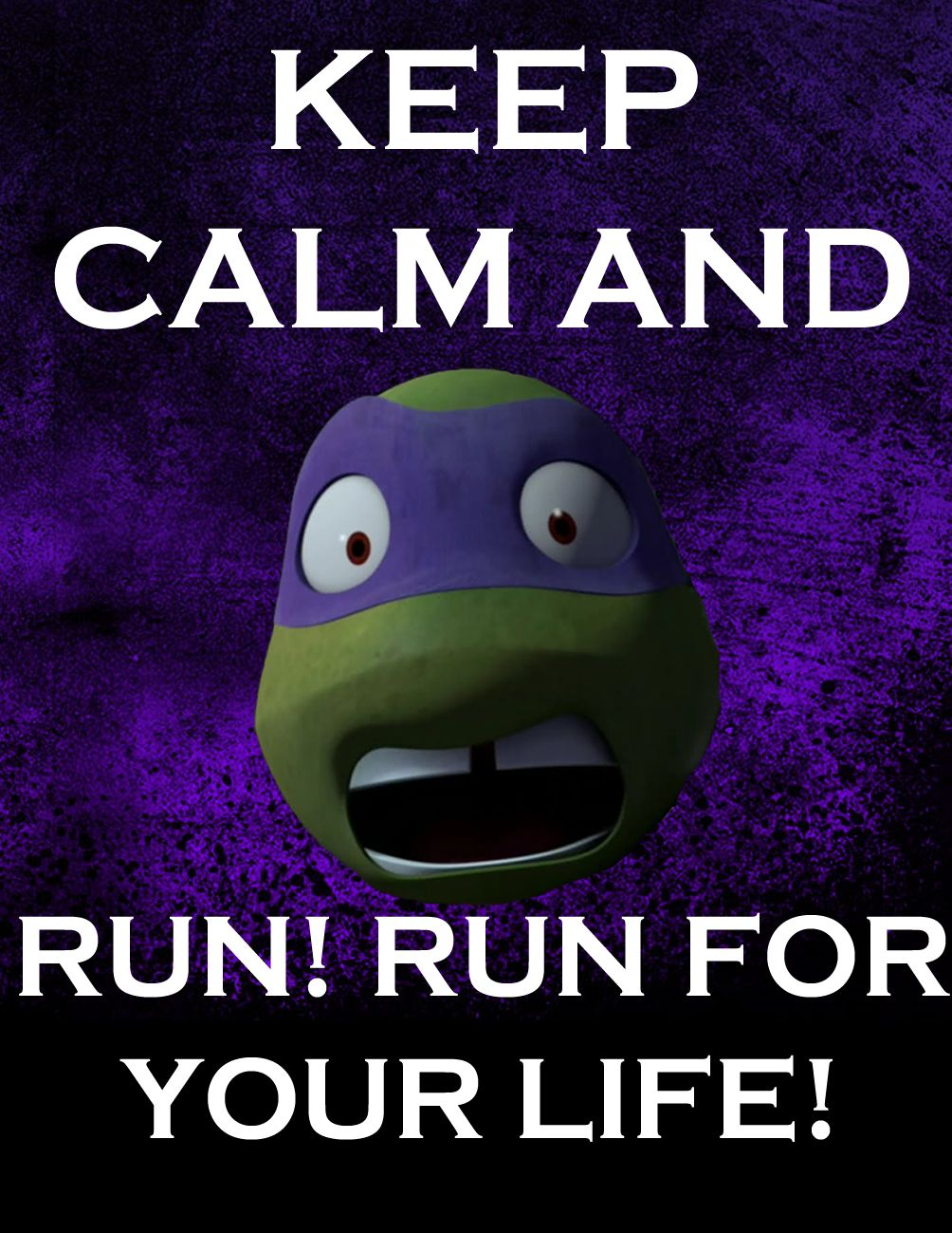 Ninja Turtle Quotes Keep Calm Donniecleverskeleton.deviantart On Deviantart