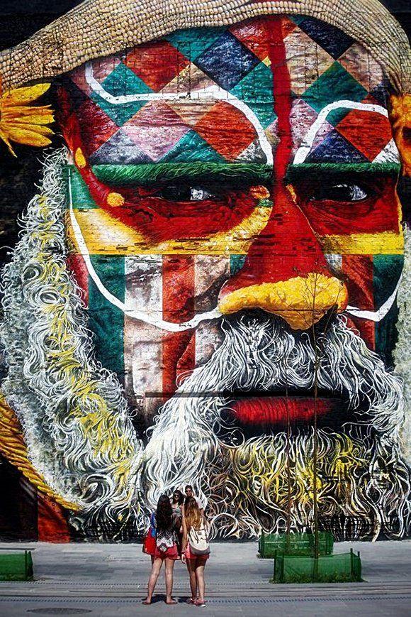 Street Art Rio de Janeiro-Eduardo Kobra