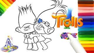 Rotulador Mágico de Trolls la pelicula Marcador Mágico de Trolls de Imagine Ink - YouTube