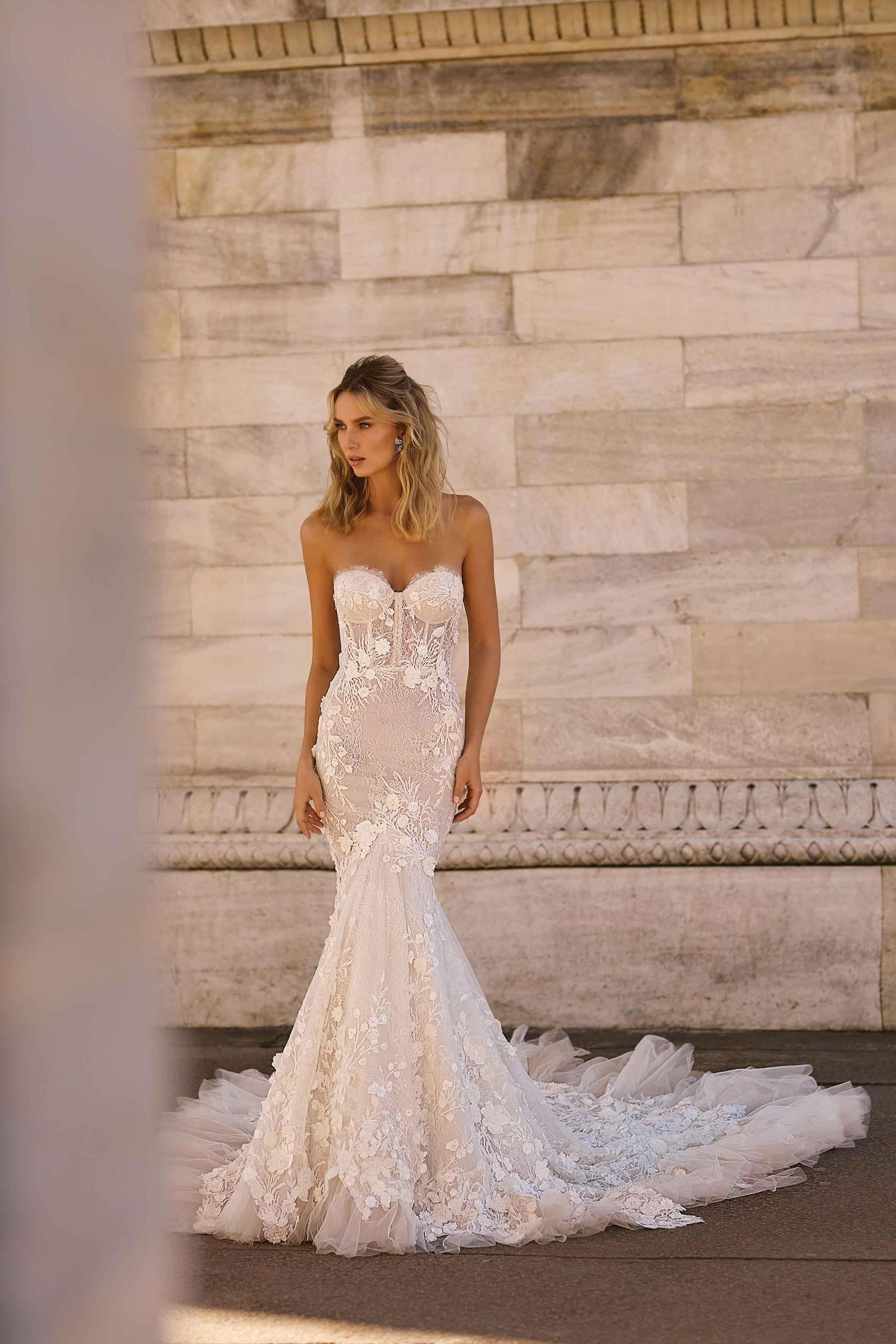 29+ Slim fit mermaid wedding dress ideas