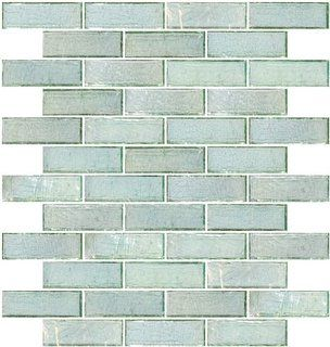 Elegant inch coke bottle green iridescent glass subway tiles for your  kitchen, backsplash, or hotel lobby.