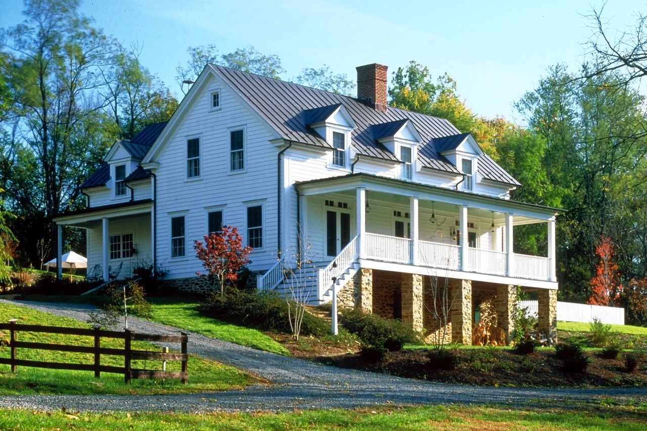 19th Century Farmhouse Style Design By Architect Russell Versaci