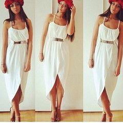 Drape Maxi Dress