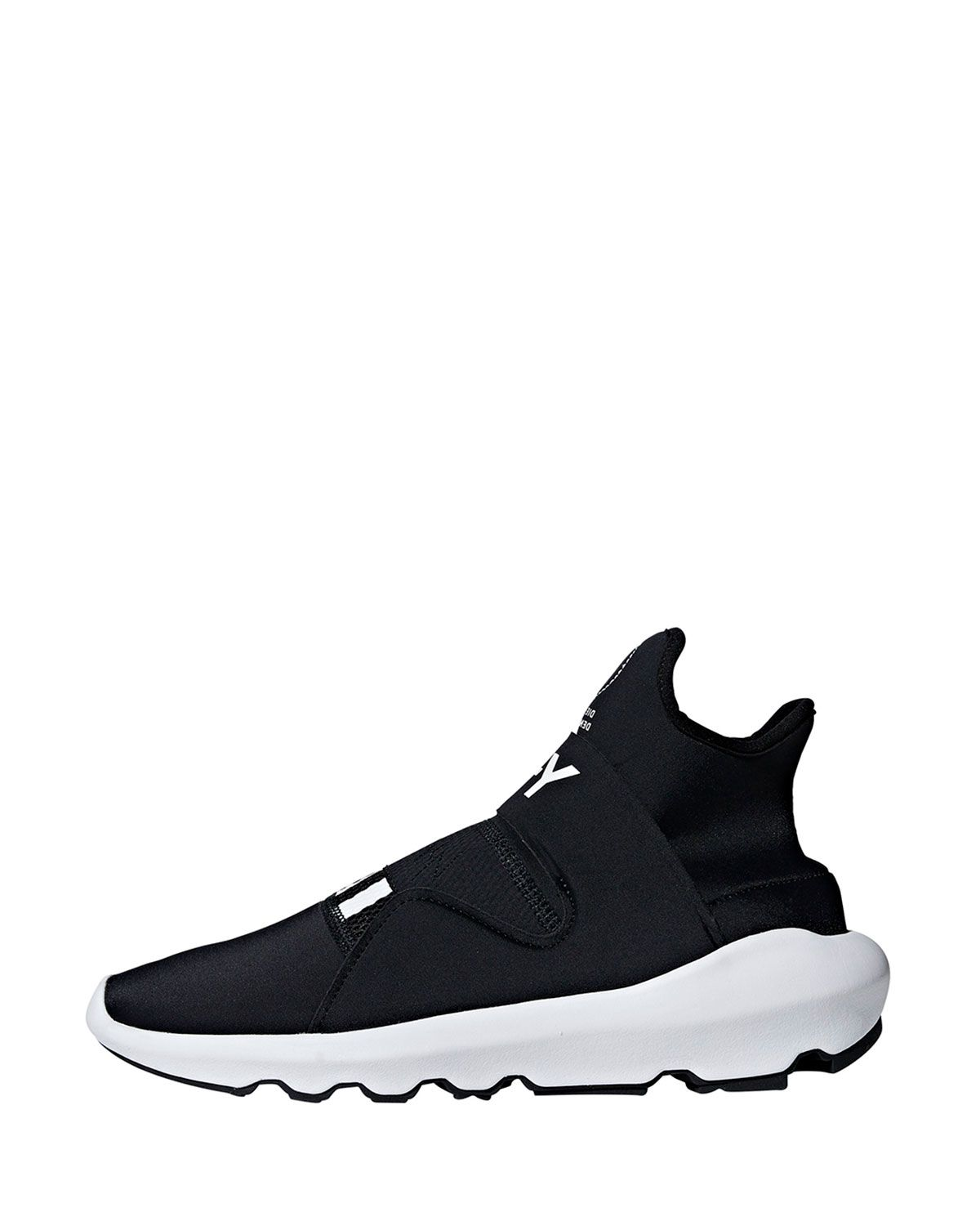 new concept b1e89 570c1 Y-3 MEN S SUBEROU KNIT RUNNING SNEAKERS, BLACK.  y-3  shoes