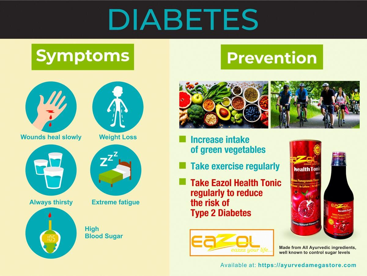 Worry About Diabetes No Problem Take Eazol Health Tonic
