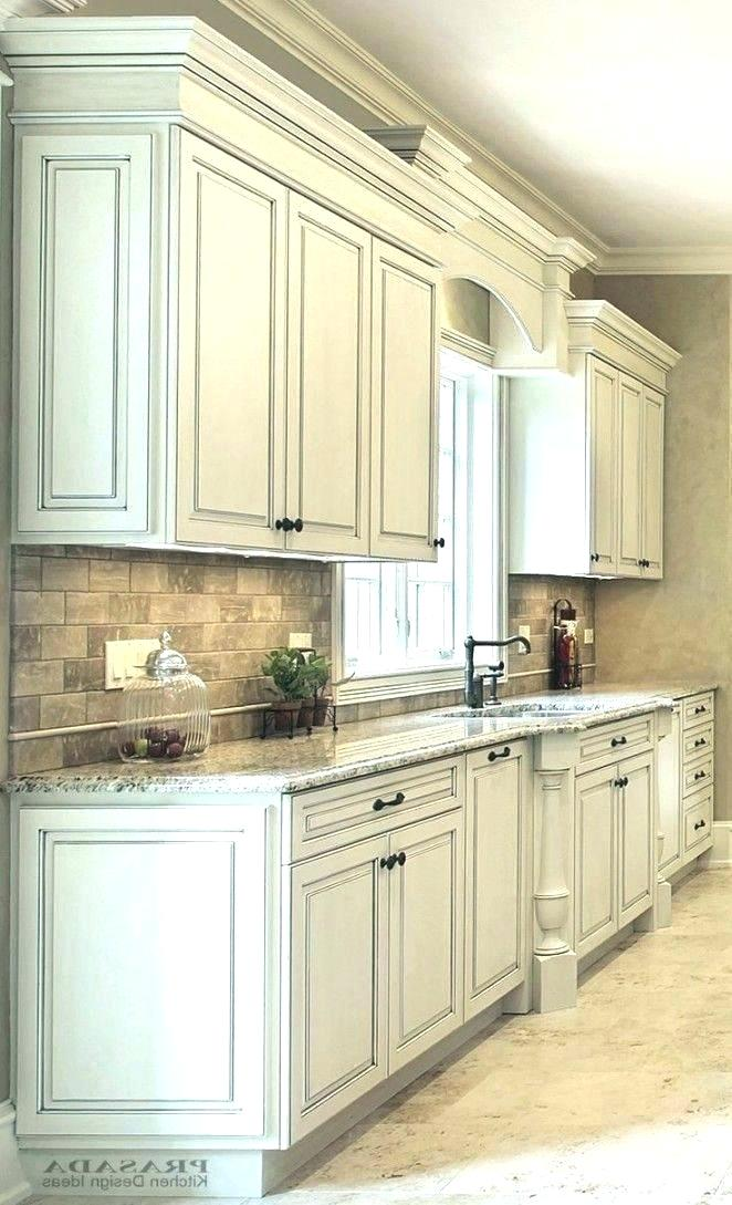 Kitchen Cabinets Decor, White Cabinets With Gray Glaze