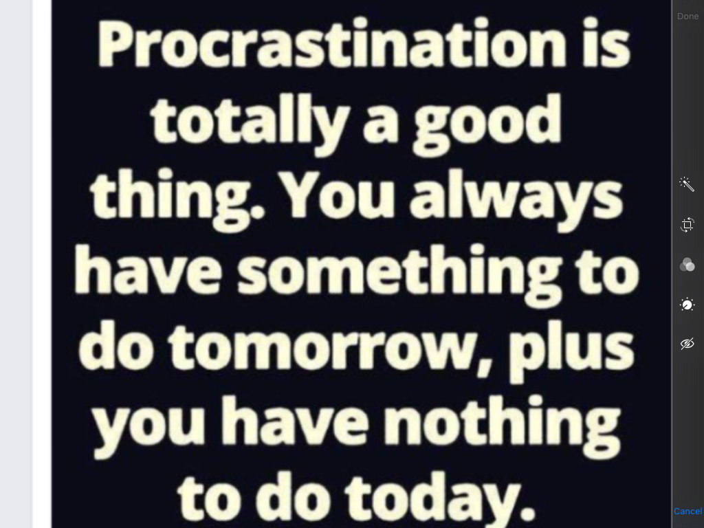 Quotes About Procrastination Funny