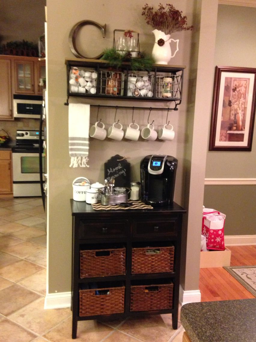 Home decor coffee bar holly lobby also diy station ideas for your mood buzz how to make own rh pinterest