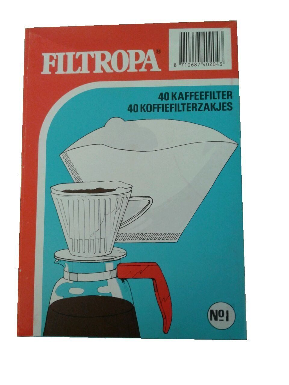 Filtropa 1 White Cone Coffee Filters * You can find out