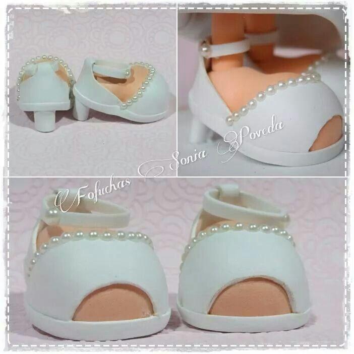 d zapatos novia | complementos fofuchas