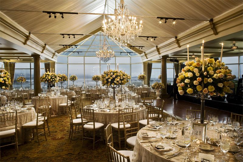 For Reception The Beach Tennis Club Wedding Venues At Pebble Resorts Ca