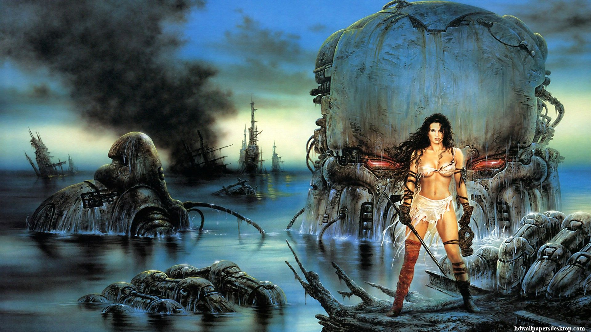 Luis Royo Fantasy Art Gallery | Luis Royo Wallpapers
