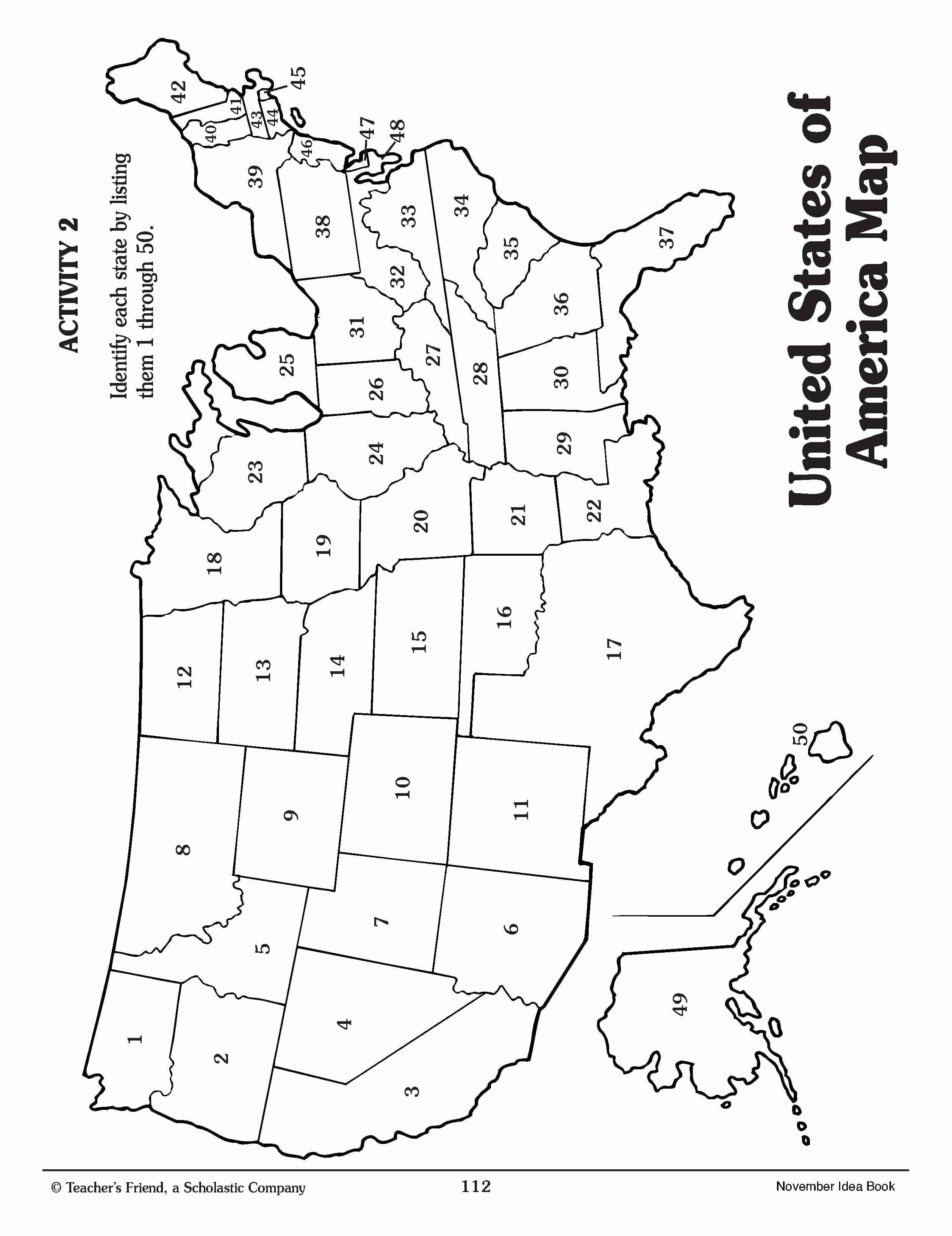Us States Coloring Pages Di