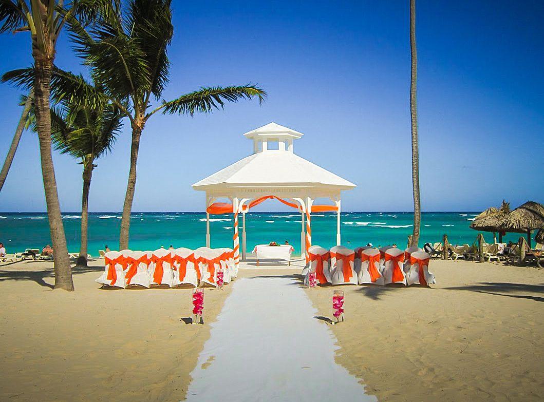Parrot Bar Wedding Reception At Majestic Colonial Punta Cana Destination Weddings Beach Locations Pinterest