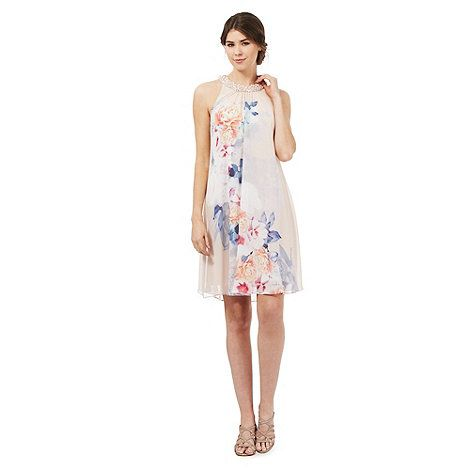 whatgoesgoodwith.com light pink floral dress (06) #cuteoutfits