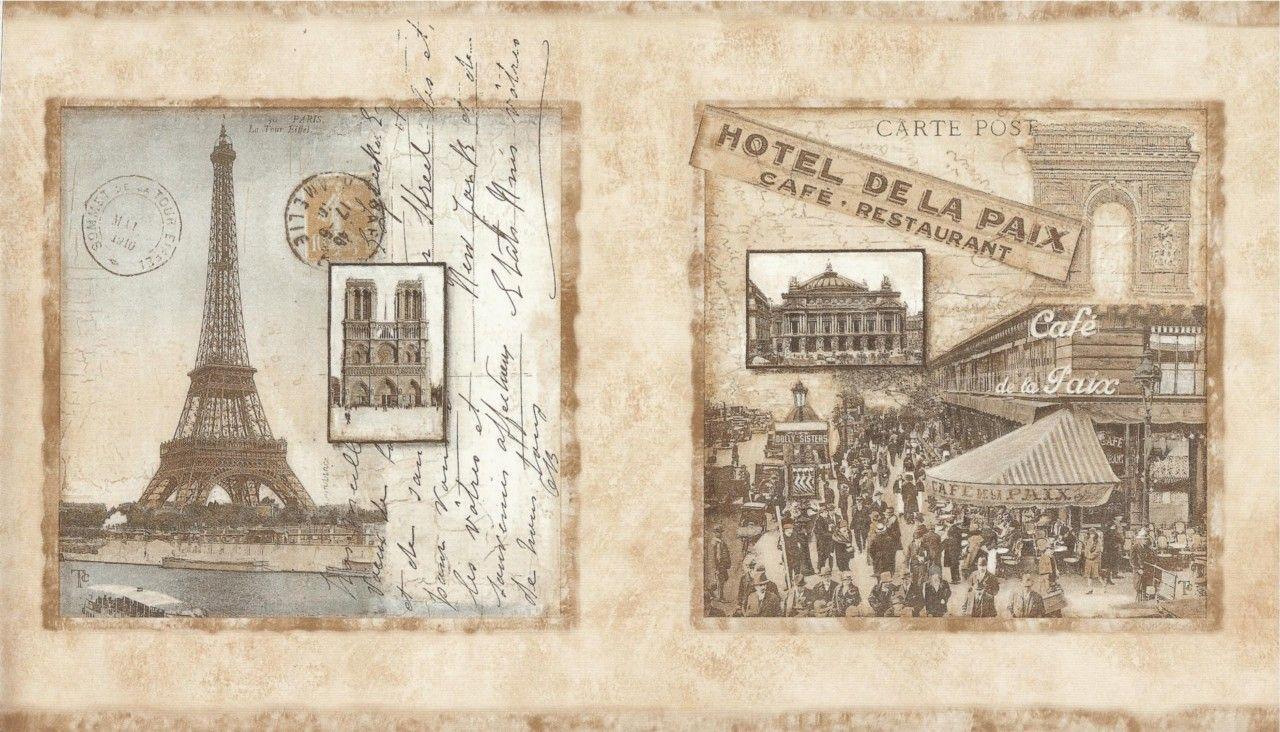 гипотезе открытки парижа старые самый оригинальный
