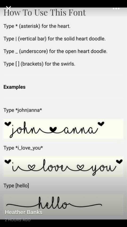 Download MF I love glitter font commands | I love glitter font ...