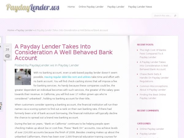 With No Banking Account Even A Web Based Payday Lender Doesn T Seem Possible Having Regular Debt Like Rent And Utilities Ta Payday Banking Services Bank Fees