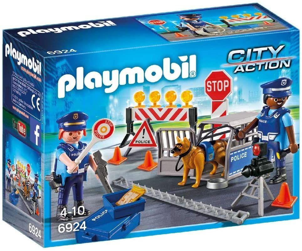 Playmobil City Action Control De Policía Playmobil Police Toys Police
