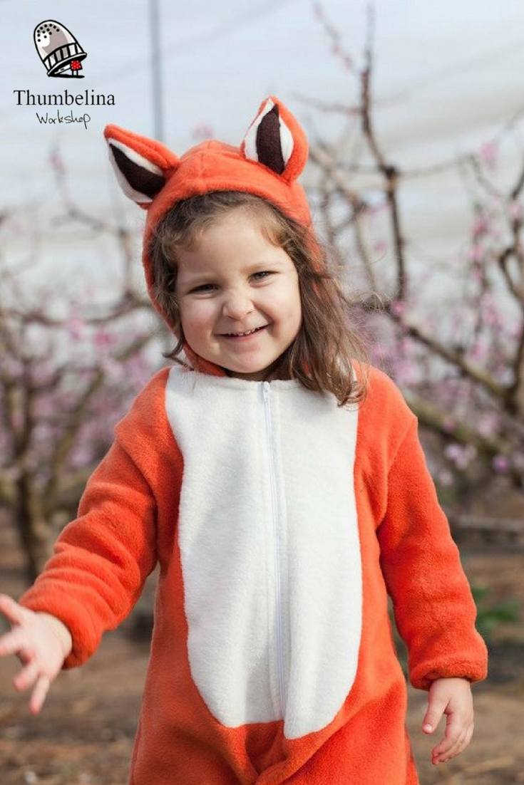 Fox suit/ Toddler Costume/ Baby Costume/ fox dress up/ christmas ...