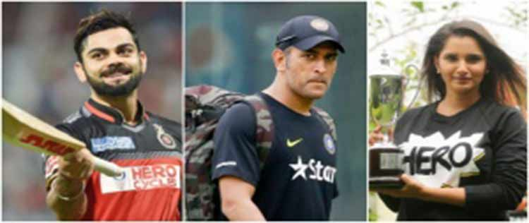 Indian Sports gets a mention in Influential Sportspersons list Virat Kohli accomplishes yet another achievement