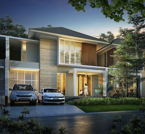 Desain Rumah Surabaya Barat Citraland Tipe Magnolia Desain Rumah Arsitektur Dekorasi Minimalis