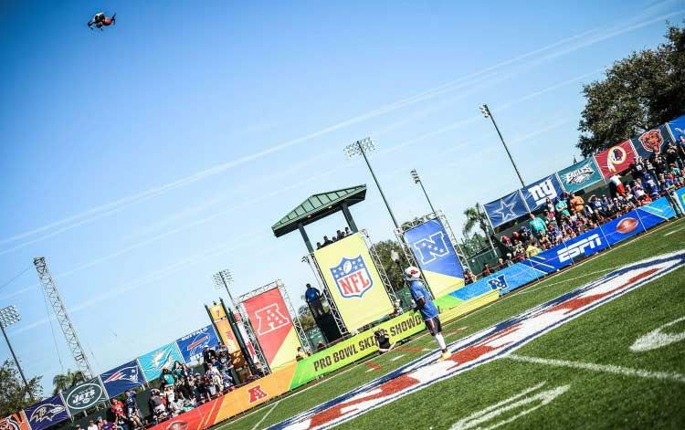 NFL Pro Bowl descends on ESPN Wide World of Sports this week