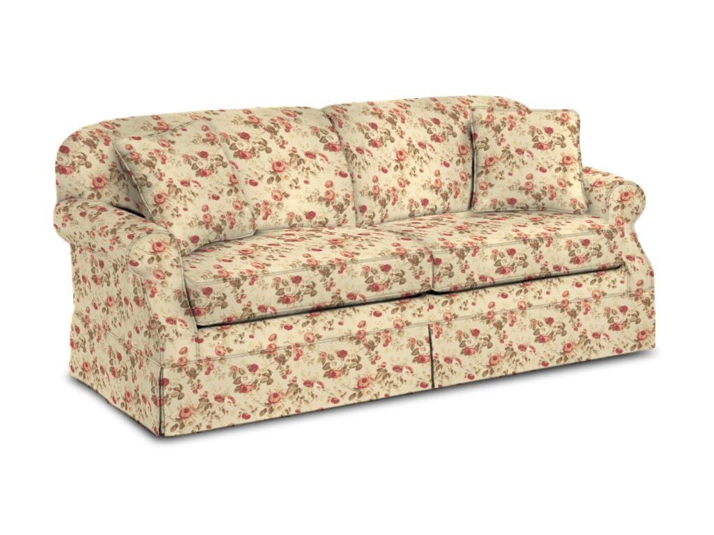 Craftmaster Living Room Two Cushion Sofa 974250   Ramsey Furniture Company    Covington, Georgia