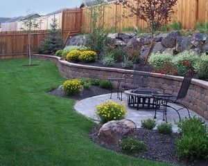 Tiered Backyard Landscaping Ideas wall for tiered yard - landscaping plants | backyard | pinterest