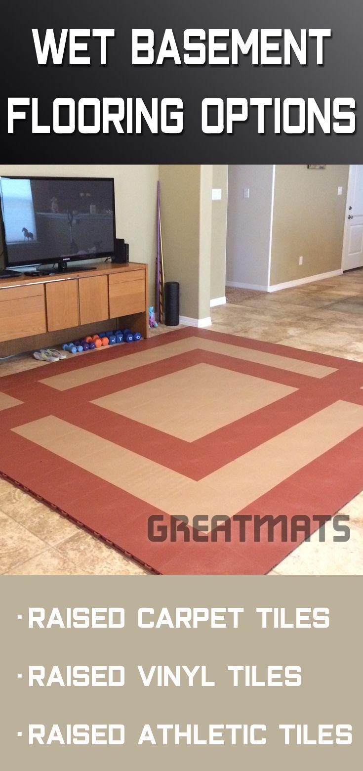 Wet Basement Flooring Options Floor Tiles With A Vapor