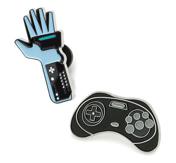 PinMart/'s Original N64 Controller Gaming Lover Retro Cool Enamel Lapel Pin